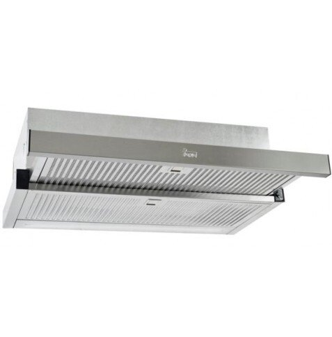 Campana Teka CNL 6815 Plus - A, 60cm, 730 m3/h, 5 potencias + turbo, Motor Blindado doble turbina
