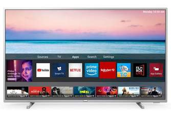 TV PHILIPS 65%%%quot; 65PUS6554 UHD STV SILVER HDRDOLBY