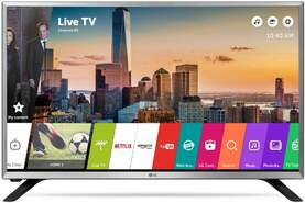 "Etiqueta: Televisión LG 32"" 32LJ590U - Full HD, Smart TV WebOS 3.5, Wi-Fi, USB Multimedia, Sint. TDT2 y Satel."