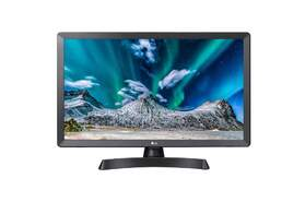 TV Monitor LG 24TL510V-PZ - HD IPS, Procesador Triple XD, Modo Juego y Cine, Virtual Surround 10W