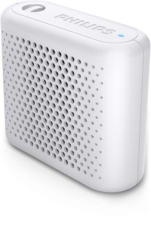 Altavoz portátil Philips BT55W/00 Blanco - 2W, Bluetooth, Aut. 6 horas, Android/IOS