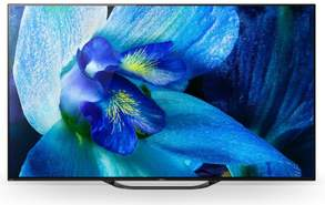 "TV OLED Sony 55"" KD55AG8 - 4K X-Reality PRO, HDR Processor X1 Extreme, Android TV, Dolby Vision"