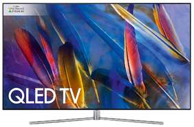 "Etiqueta: Televisión Samsung 75"" QE75Q7F - Quantum Dot QLED, Ultra HD, HDR1500, 3100 Hz, Smart TV, Wifi"