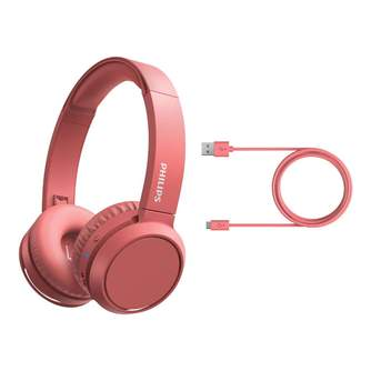 AURICULARES PHILIPS TAH4205RD/00 DIADEMA RED