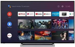"TV Toshiba 43"" 43UA3A63DG - UHD 4K, Android TV, Dolby Vision, Micro Dimming, Onkyo Sound"