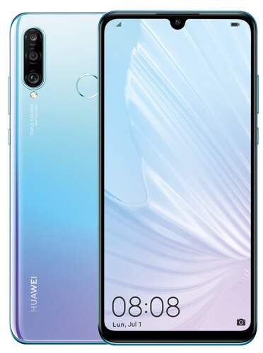 """Huawei P30 Lite 128GB Nácar - 6.15"""", RAM 4GB, OctaCore 2.2 GHz, Triple Cam 48+8+2 Mpx, Android 9"""