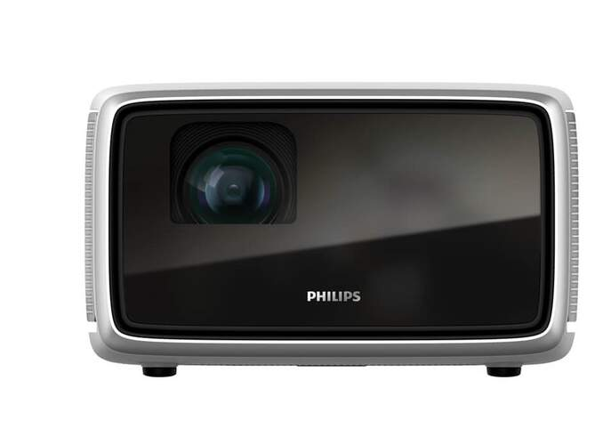 """Proyector Philips Screeneo S4 - Full HD, 1800 Lúmens, 100.000:1, Hasta 160"""", 16GB, HDR, Android"""
