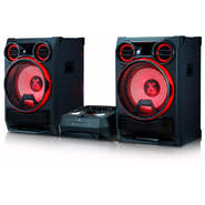LG XBOOM CK99 - 5000W, Bluetooth, Karaoke, Party thurster, Crossfader, USB, TV Sound Sync
