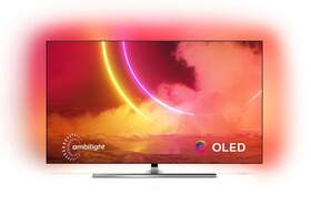 """TV Philips 55"""" 55OLED855/12 - UHD 4K, Android TV, P5, HDR10+, Ambilight, Dolby Vision/Atmos"""